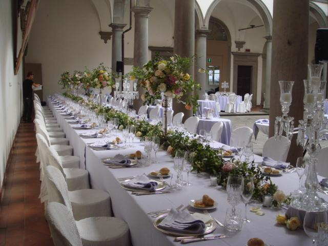 Lovely Renaissance Wedding Table ...