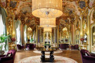 Hotel Villa Cora (Florence) hall