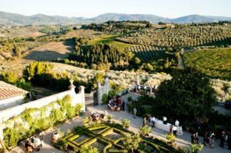 italian garden Villa Corsini
