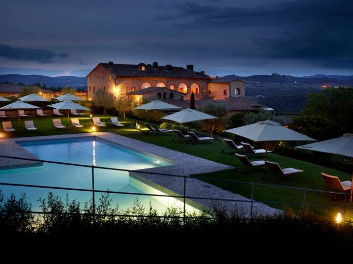 HOTEL FONTANELLE RESORT (Siena) Luxury hamlet in tuscany