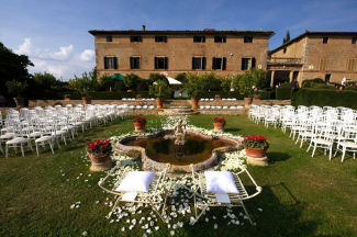 BORGO STOMENNANO (Siena) villa for weddings