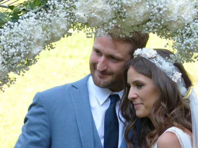 wedding will and laura
