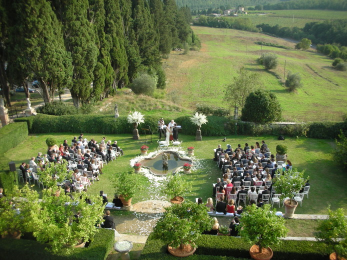 wedding venue in siena
