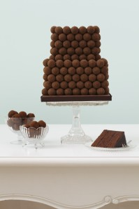 wedding cake Dark-Choc-Truffle