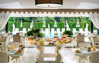 Hotel Villa Cora (Florence) Dining room